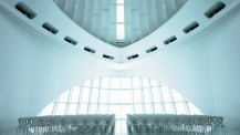 An iconic meeting space designed by Santiago Calatrava
