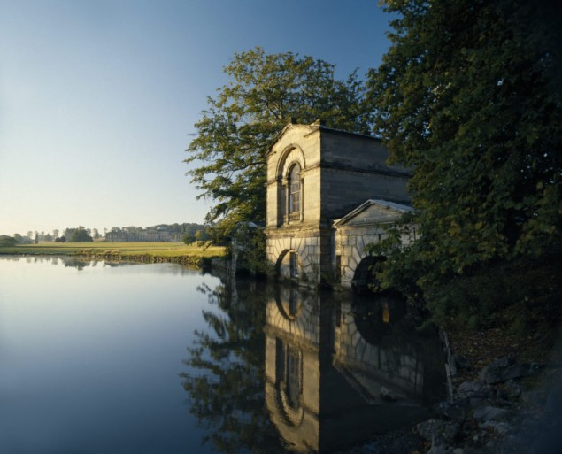 The Adam Fishing House at Kedleston Hall, UK