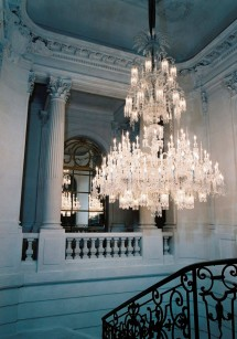 Baccarat House - Chandelier in Entry Hall