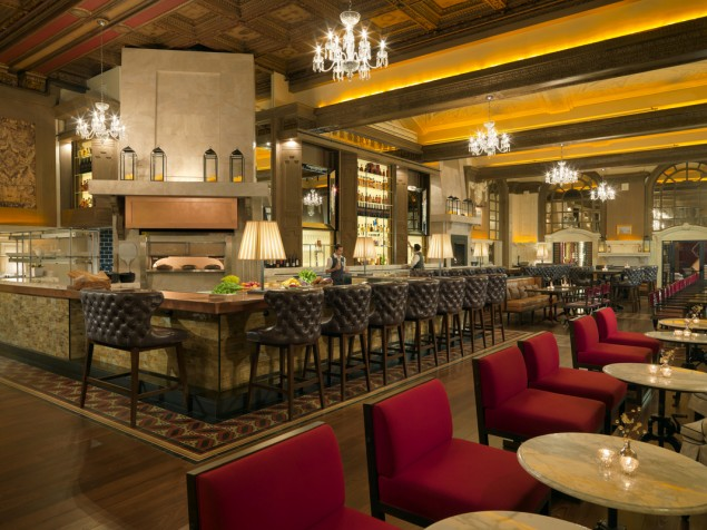 Fairmont Copley Plaza's reinvented Oak Bar and Restaurant