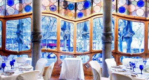Casa Batlio - Room Jujol reception setup