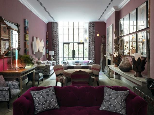 Crosby Street Hotel - Sitting room