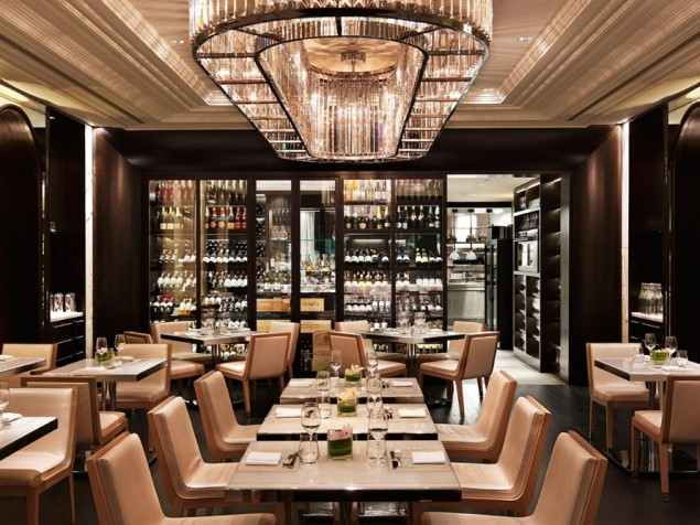 The award-winning Hawksworth Restaurant, by local hero Chef David Hawksworth