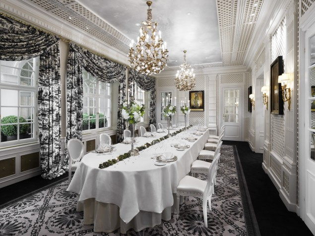 Sacher Hotel - Private dining