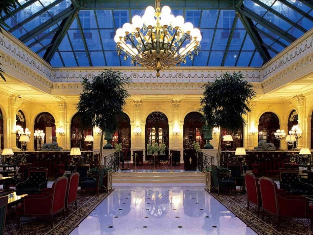 Intercontinental Le Grand - Interior architecture