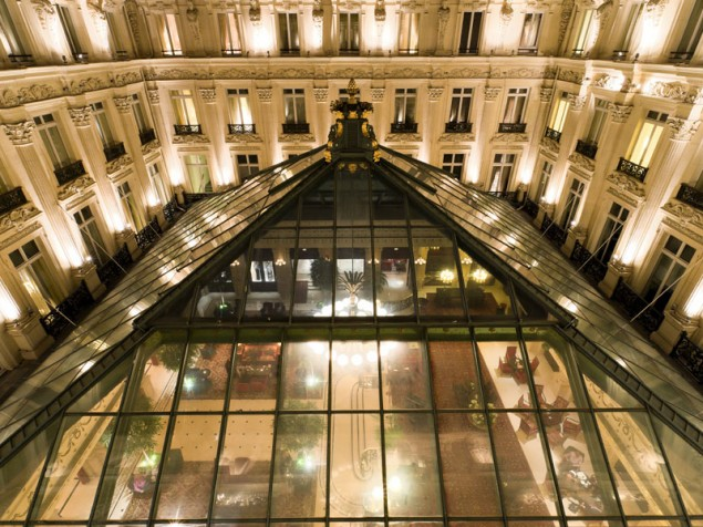 Intercontinental Le Grand - Skylight over salon