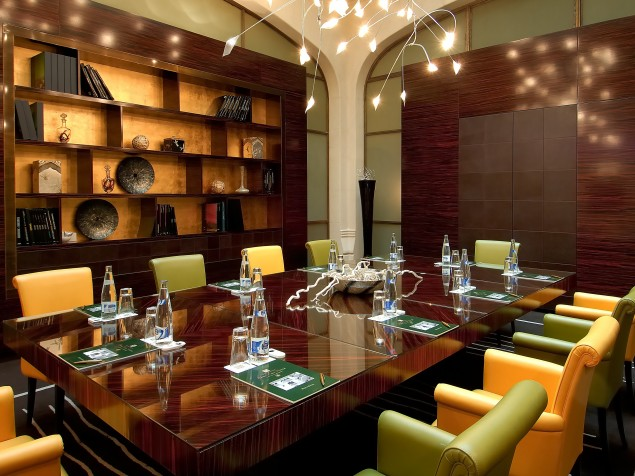 A meeting of creative minds should have an equally creative setting