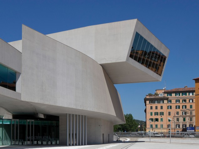 MAXXI Museum - Exterior View