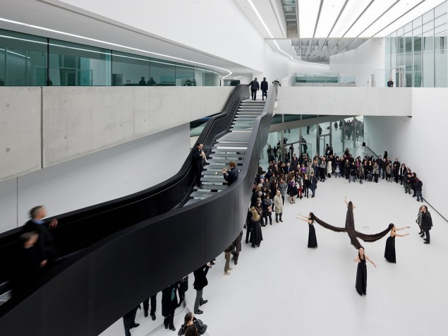 MAXXI Museum - Upper level at stairway
