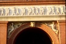 National Building Museum - Exterior detail at frieze
