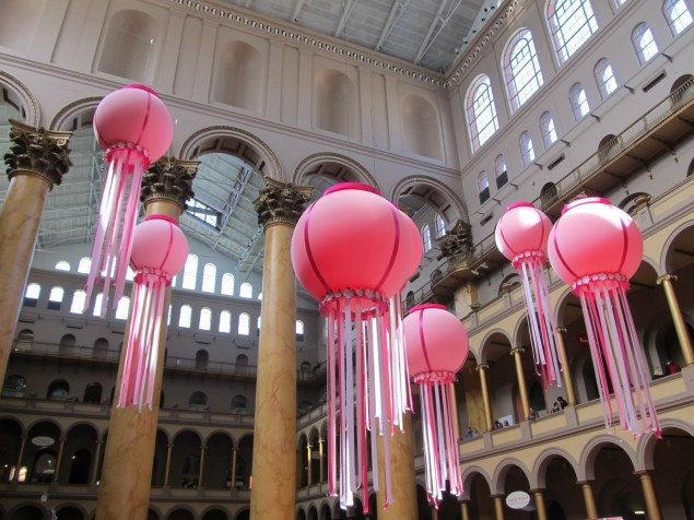 National Building Museum - Interior and daylight