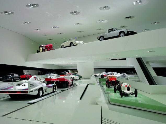 Porsche Museum - Exhibit gallery