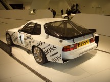 A great architectural tribute to a great car and our personal favorite, the 944