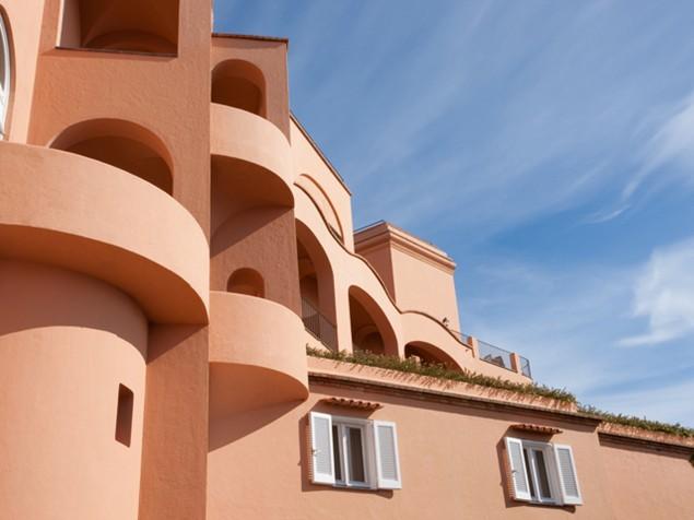Punta Tragara - Historic exterior walls