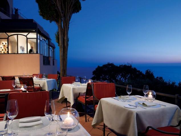 Punta Tragara - Outdoor Dining