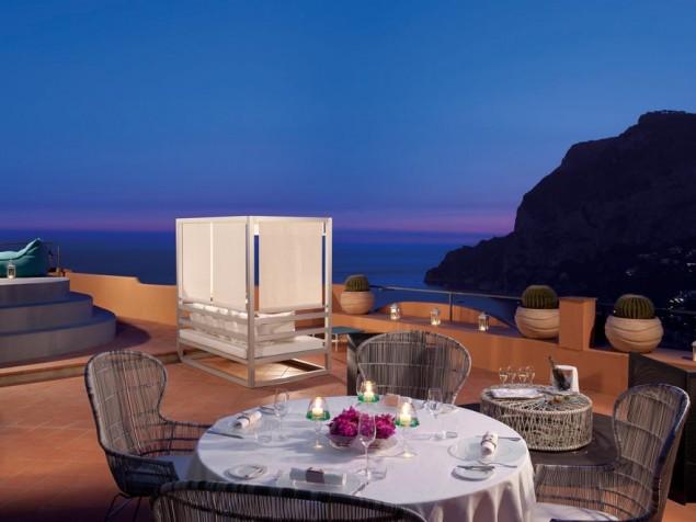 Punta Tragara - Private terrace
