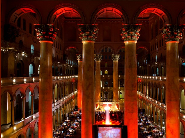 Light your fire with a celebration of love and passion and a red-hot wedding reception