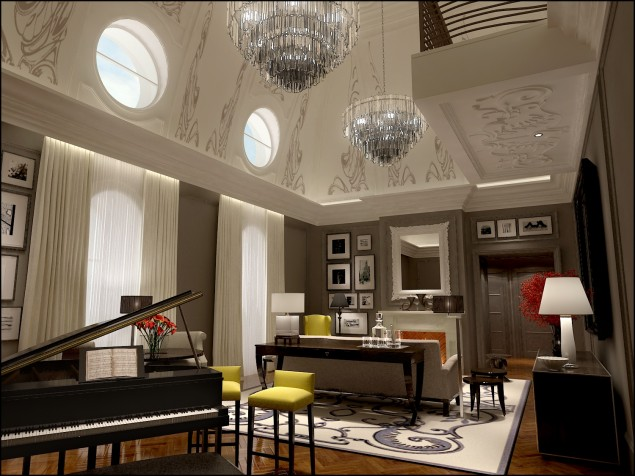 One of the Corinthia's design-award winning suites and our favorite – the Musician's Suite