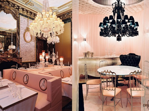 Baccarat House - Crystal Room Restaurant, Crystal Room private dining