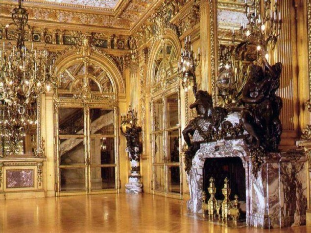 All  that glitters really is gold in the Gilded Ballroom