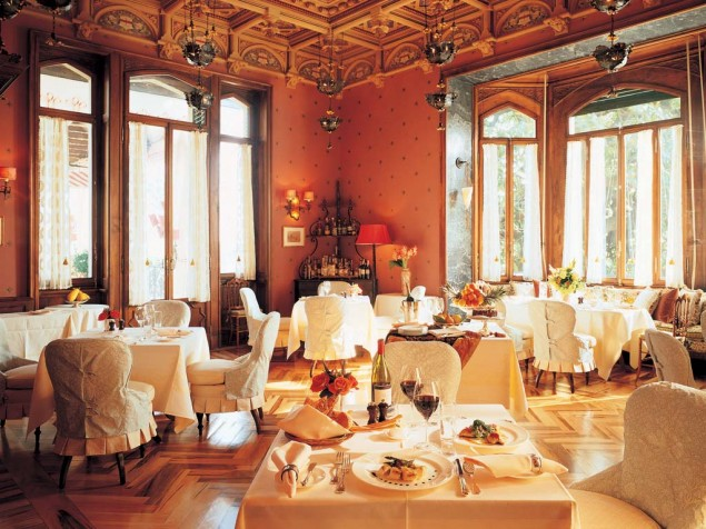 Villa Feltrinelli - Dining room