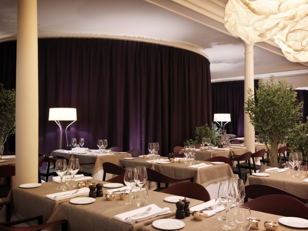 Leave it to Swedish designers to create an exciting space for Italian cuisine at Caina!