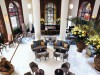 A grand entrance to One Aldwych and a lobby designed to keep you there