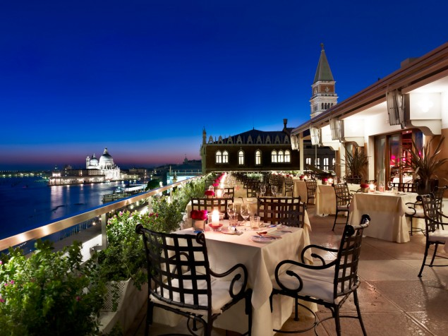 Terrazza Danieli, from the outside — the best of Venice from its cuisine to its historic views