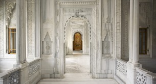 The show-stopping entrance to the Hammam at Ciragan Palace