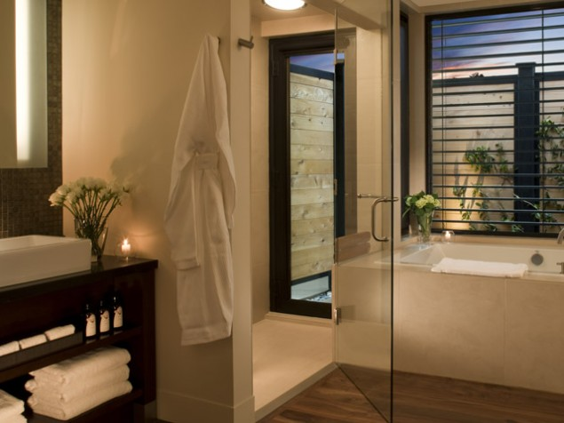 Every room is a spa at Bardessono