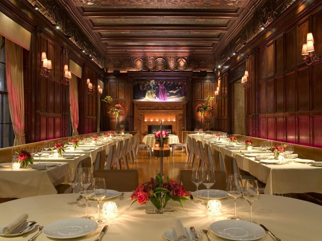 Gilt Restaurant — award-winning cuisine in a richly-decorated historic setting