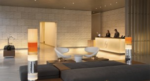 """Less is more"" at the  LEED Gold Shore Hotel"
