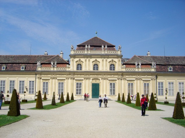 Just a summer home for the Prince at Lower Belvedere Palace