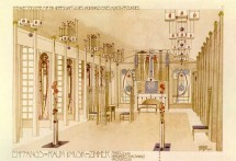 Mackintosh's rendering of the Music Room