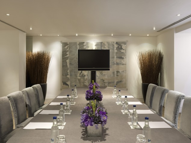 One of multiple great meeting rooms at One Aldwych — take your pick!
