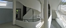 The many paths of travel through Villa  Savoye