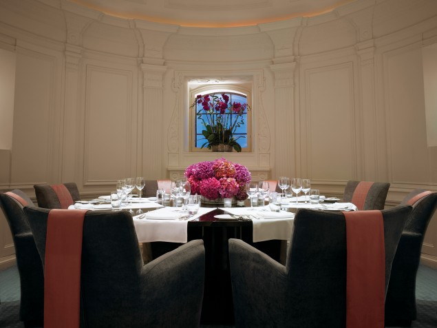 Classicly-inspired private dining in the historic Dome Suite