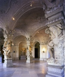 A most lavish expression of art and engineering in the Sala Terrana