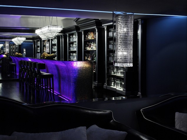The bar designed  to make you look glamorous and want to stay awhile