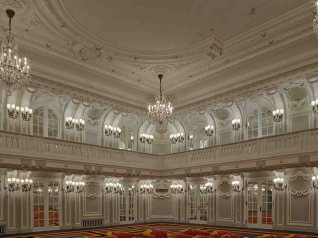 The refined grace and ornate beauty of the Crystal Ballroom need no introduction