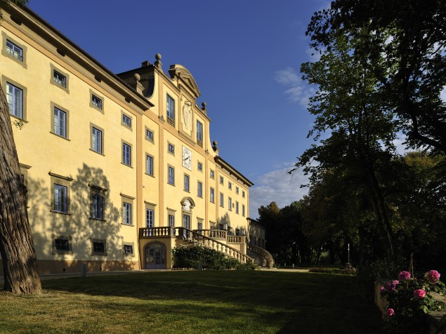 The Florentine villa that hosted the Pope, Italian kings, and the stars of the day