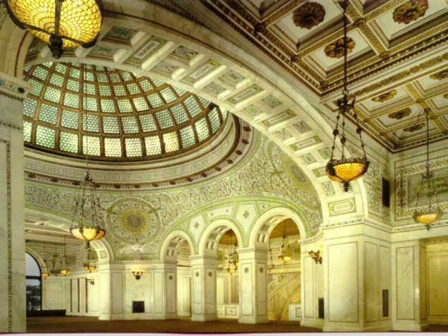 The Great Dome of the Chicago Cultural Center