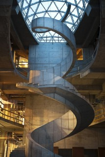 The Dali Museum's inspiring visual tribute —  the Helical Staircase