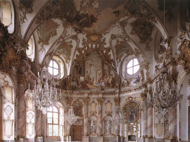 Considered the most beautiful ballroom in Europe — the magnificent Imperial Hall