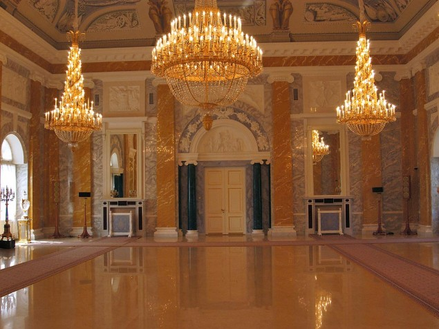 A celebration in the Marble Hall at Upper Belvedere Palace is a night to remember
