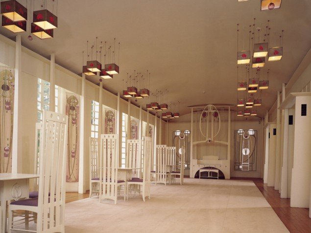 Quintessential Mackintosh in the Music Room  — an absolutely delightful event space