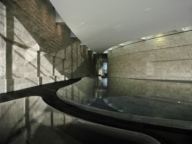 The art and architecture of the spa — created by a pool of extraordinary talent