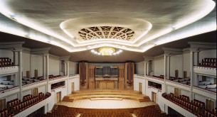Horta's masterpiece at Bozar — the singularly beautiful Henry le Boeuf Hall