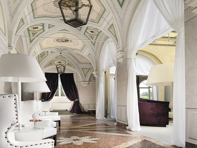The richly decorated vaulted ceilings that dreams are made of — certainly ours!