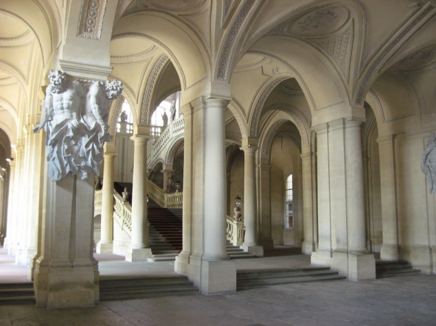 The Vestibule — an elegant structural expression detailed in the spirit of Baroque